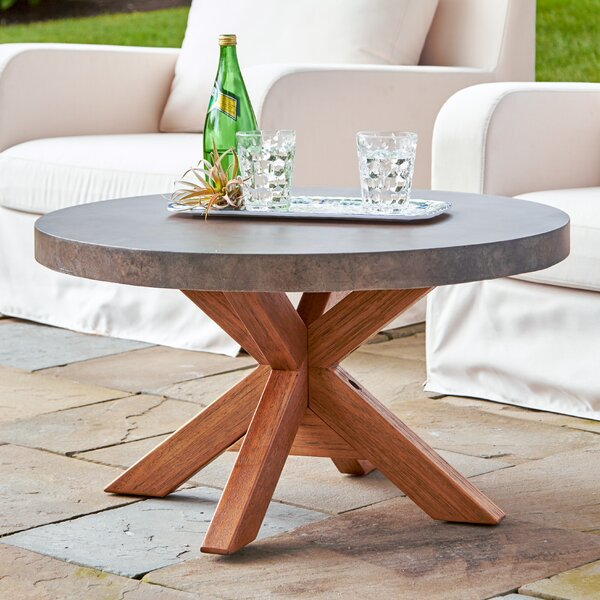 Mancini Round Coffee Table by Birch Lane™