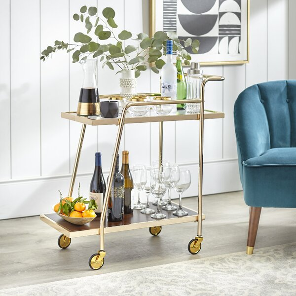 Nehls Bar Cart by Mercer41 Mercer41