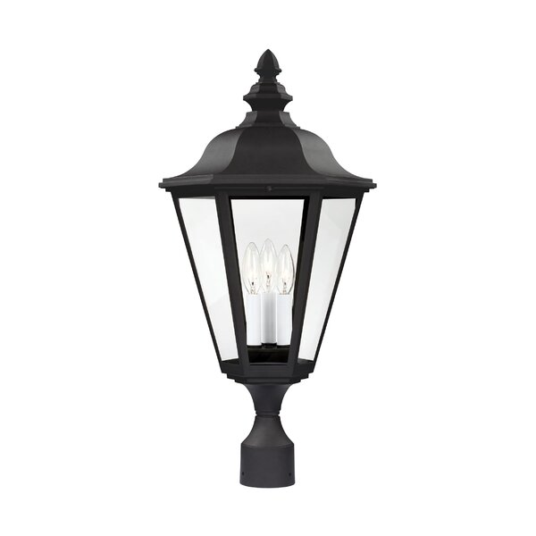 Alvara 3-Light Lantern Head by Bloomsbury Market