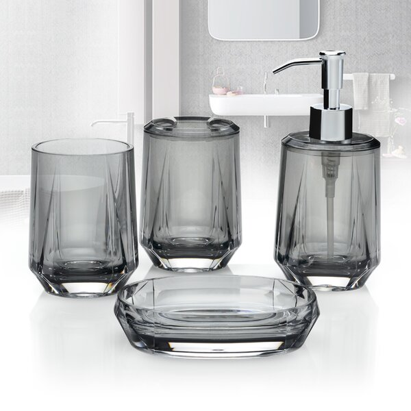 Blink Bathroom Accessory Set (Set of 4) by Immanuel