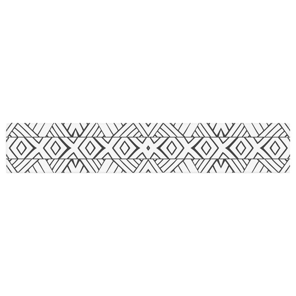 Pom Graphic Design Tribal Expression Table Runner by East Urban Home