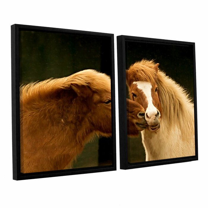 ArtWall William Turners Givet from The North 4 Piece Floater Framed Canvas Set 24 x 32