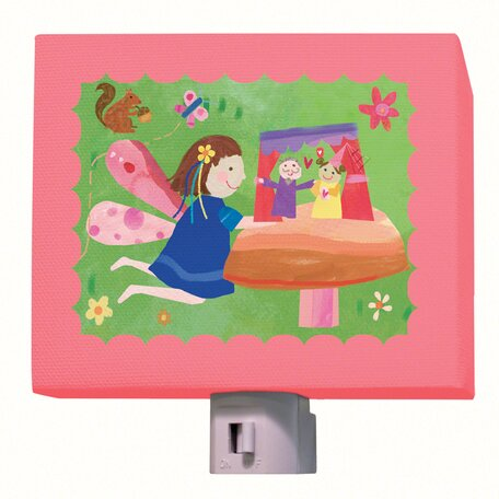Fairy Puppet Show Night Light by Oopsy Daisy
