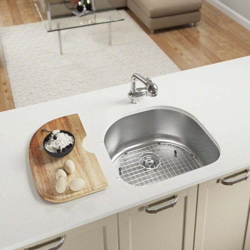 mrdirect stainless steel 24 x 21 undermount kitchen sink with