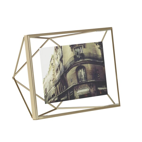 Prisma Brass Picture Frame by Umbra