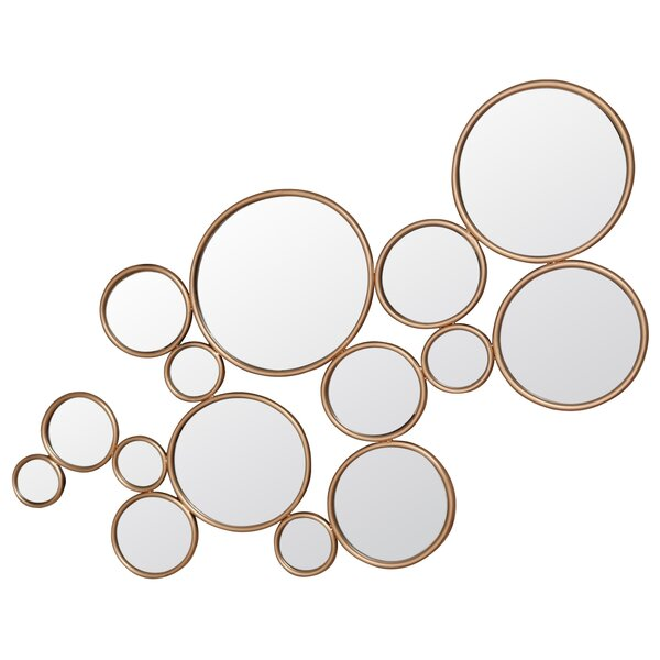 Farranshane Framed Circles Accent Mirror by Brayden Studio