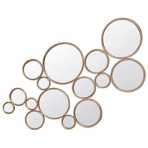 Farranshane Framed Circles Accent Mirror by Brayden Studio