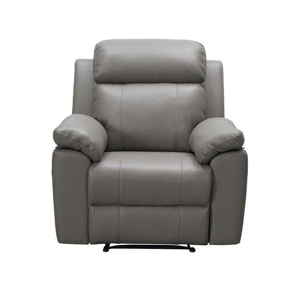 Schoeneck Leather Manual Recliner W003269149