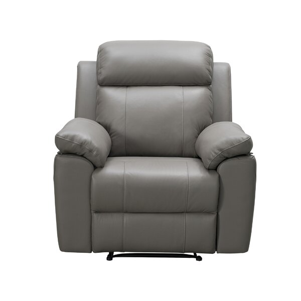 Schoeneck Leather Manual Recliner W003269149