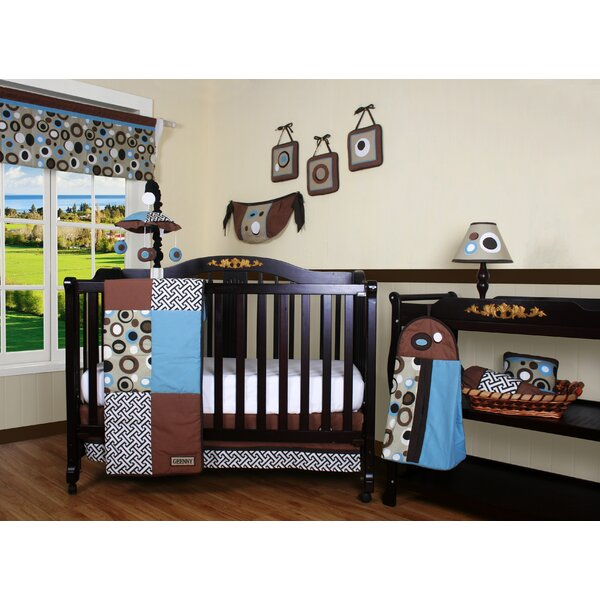 Fonville Patchwork 13 Piece Crib Bedding Set by Zo