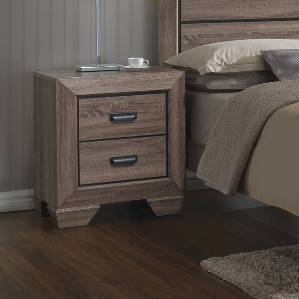 Westman 2 Drawer Nightstand by Gracie Oaks