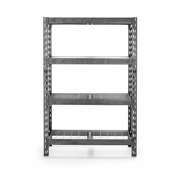 48 Wide Heavy Duty Rack with Four 18 Deep Shelves