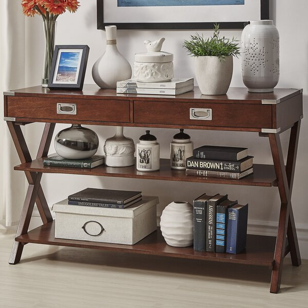 Heracles Console Table by Mercury Row