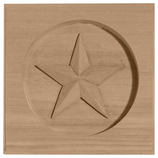 Austin 6H x 6W x 1D Star Rosette by Ekena Millwork