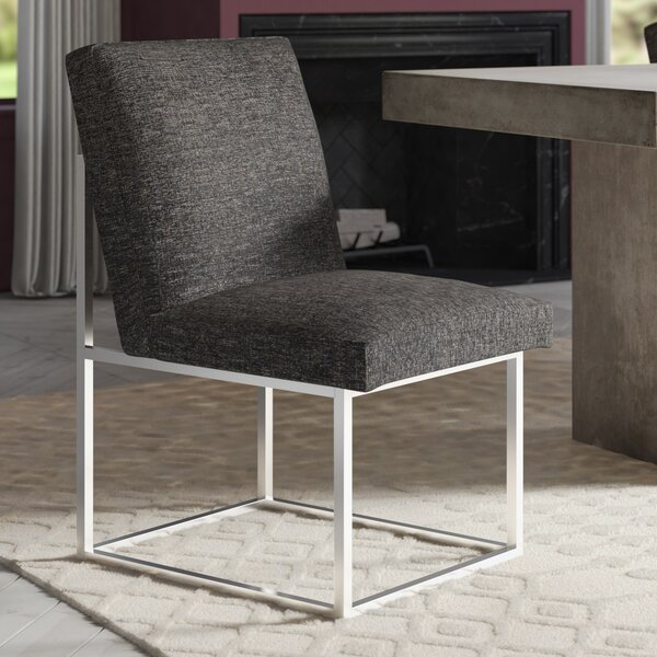 Evansville Upholstered Dining Chair by Greyleigh