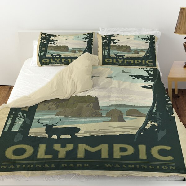 Olympic Duvet Cover by Manual Woodworkers & Weavers