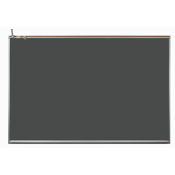 Wall Mounted Magnetic Chalkboard by AARCO