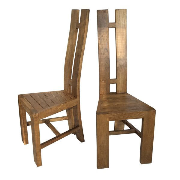 Hemenway Solid Wood Dining Chair By Highland Dunes