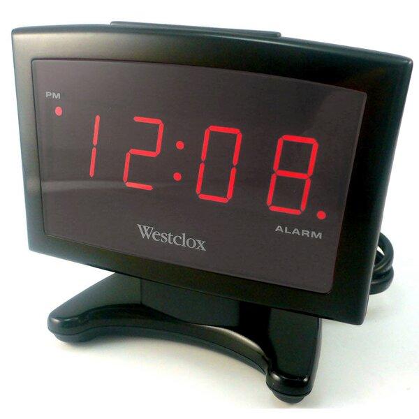 Electric Plasma LED Alarm Clock by Westclox Clocks