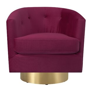 Gold Red Accent Chairs