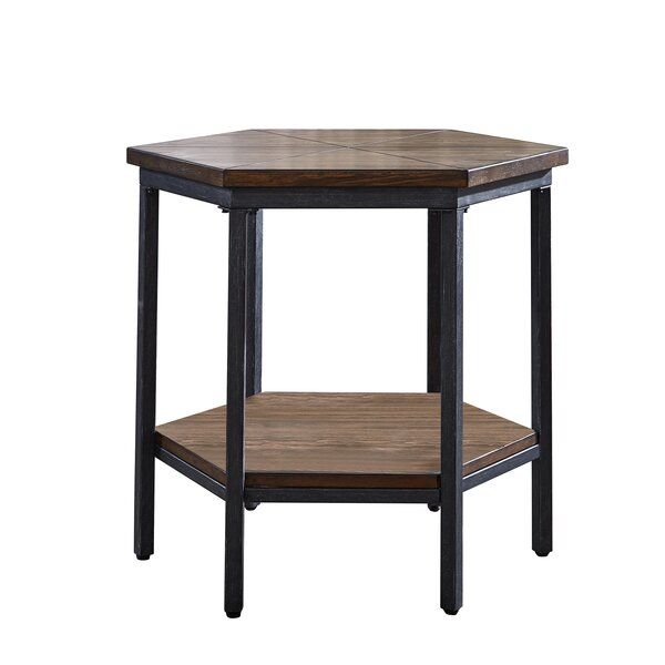 Peebles End Table By Williston Forge