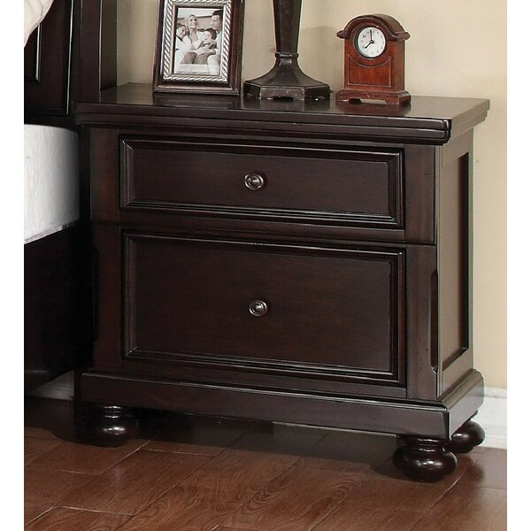 McMullen 2 Drawer Nightstand by Canora Grey