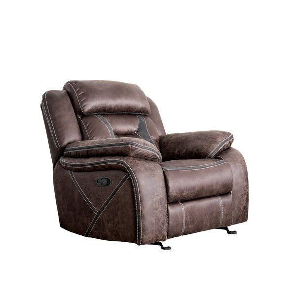 Bucholz Manual Glider Recliner W000163056