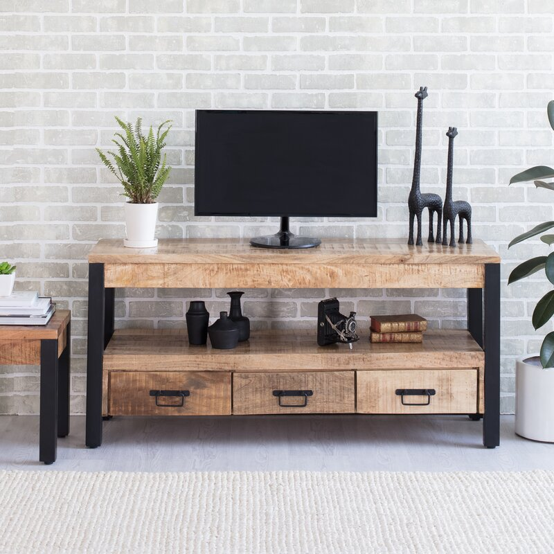 "Union Rustic Weathersby TV Stand for TVs up to 65"" & Reviews 
