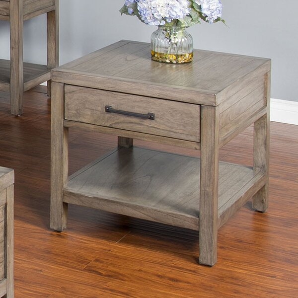 Brianne End Table by Union Rustic