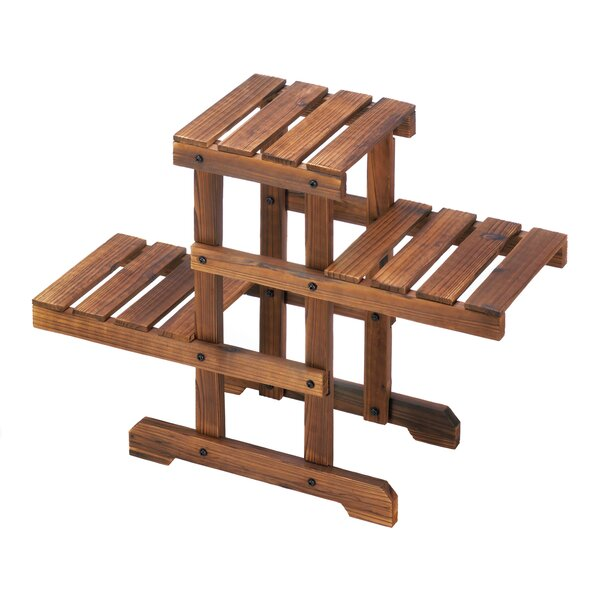 Terwilliger Zigzag Pallet Multi-Tiered Plant Stand By Millwood Pines