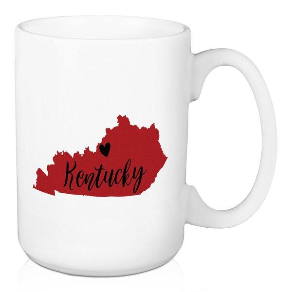 Fremantle Kentucky State Pride Louisville Love Coffee Mug by Ebern Designs