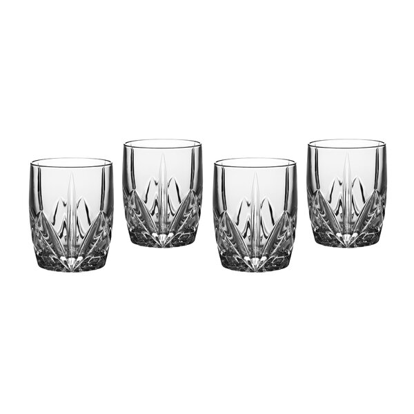 Brookside 4 Piece Crystal Cocktail Glass Set (Set of 4) by Marquis by Waterford