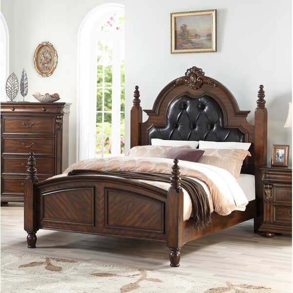 Fultz Wooden Tufted Bed by Darby Home Co