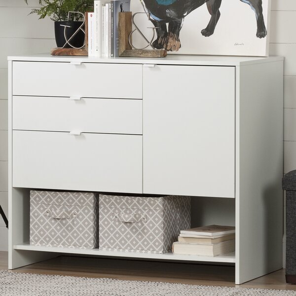 Crea 1 Door Storage Cabinet by South Shore