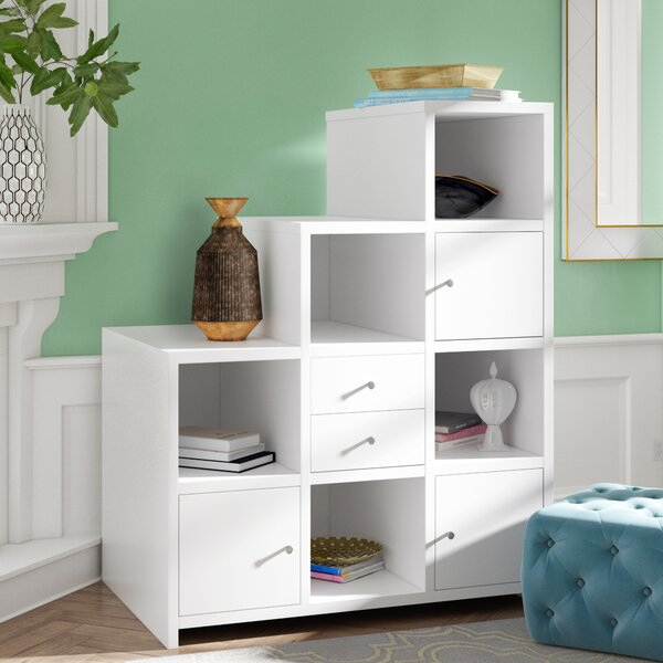 Karile Step Bookcase By Willa Arlo Interiors