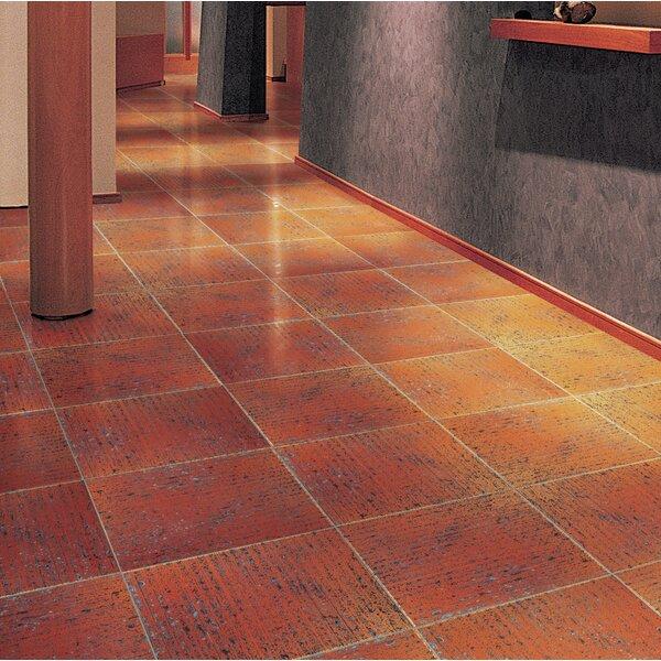 Metro 16 x 16 Ceramic Field Tile in Rust/Orange