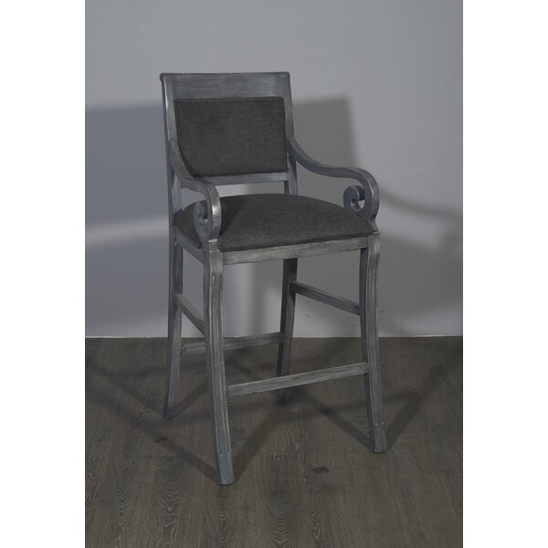 Nowlin Transitional 45 Bar Stool by Bloomsbury Market