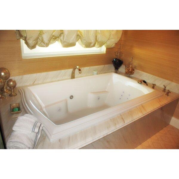 Designer Debra 72 x 42 Whirlpool Bathtub by Hydro Systems