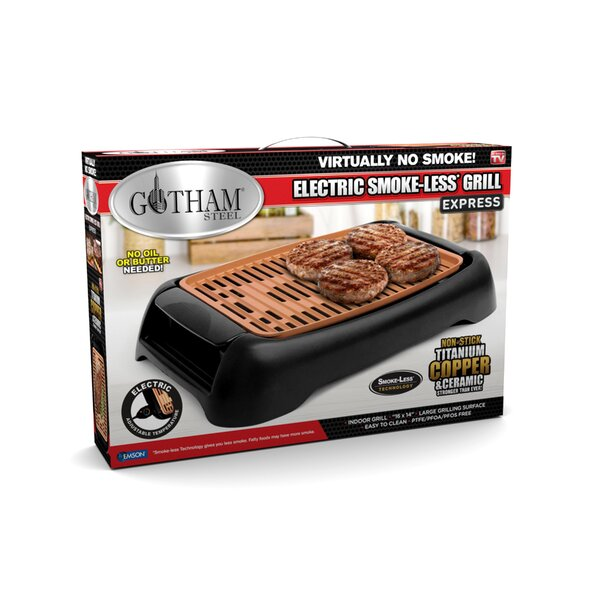 Express Electric Tabletop Indoor Grill by Gotham Steel