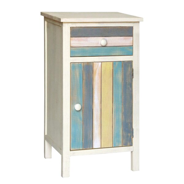 Colmont 1 Door Accent Cabinet by Highland Dunes Highland Dunes