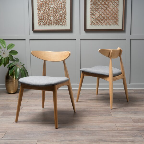 Drumnadrough Upholstered Dining Chair (Set of 2) by Corrigan Studio
