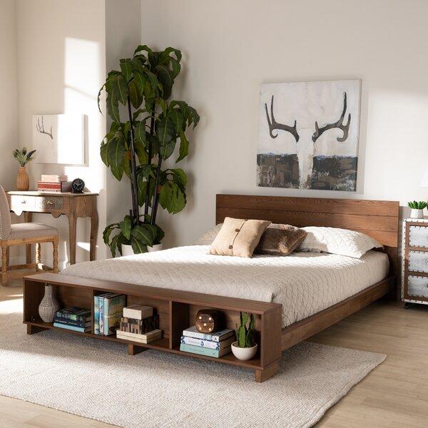 Malaika Regina Storage Standard Bed by Wrought Studio Wrought Studio