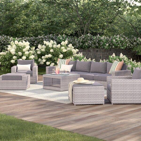 Goudreau 9 Piece Sofa Set with Cushions by Brayden Studio