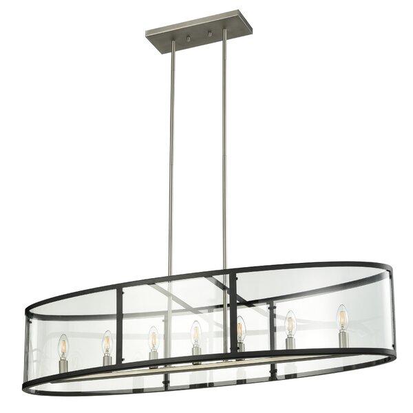 Cornalin 7 - Light Unique Geometric Chandelier By Orren Ellis