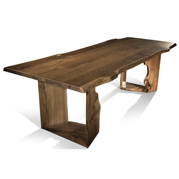 Alverson Solid Wood Dining Table by Foundry Select