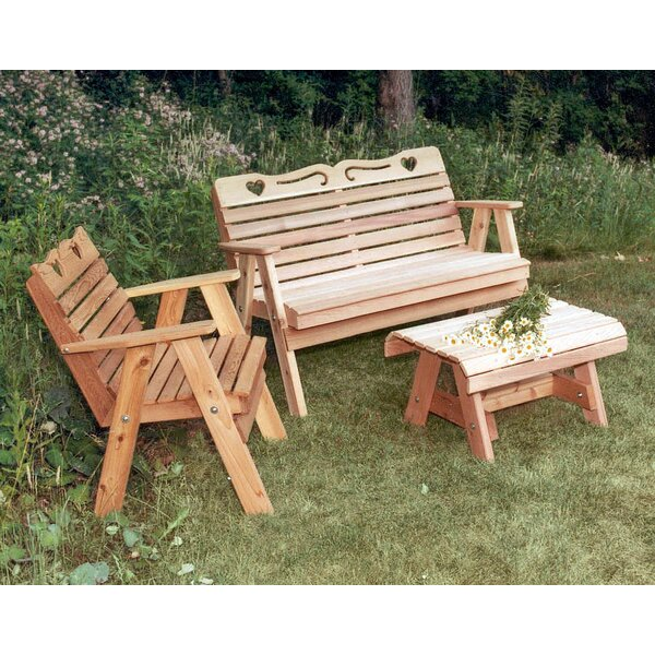 Cedar 3 Piece Sofa Set by Creekvine Designs