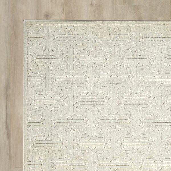 Manske Ivory Area Rug by Brayden Studio