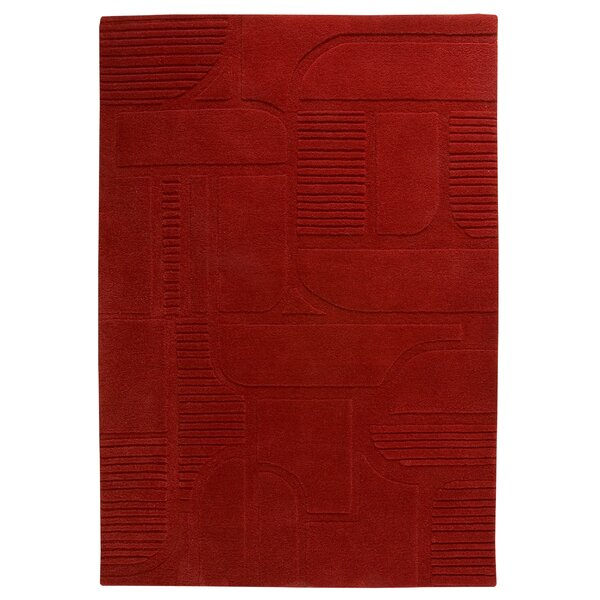 Abercrombie Tomato Area Rug by Latitude Run