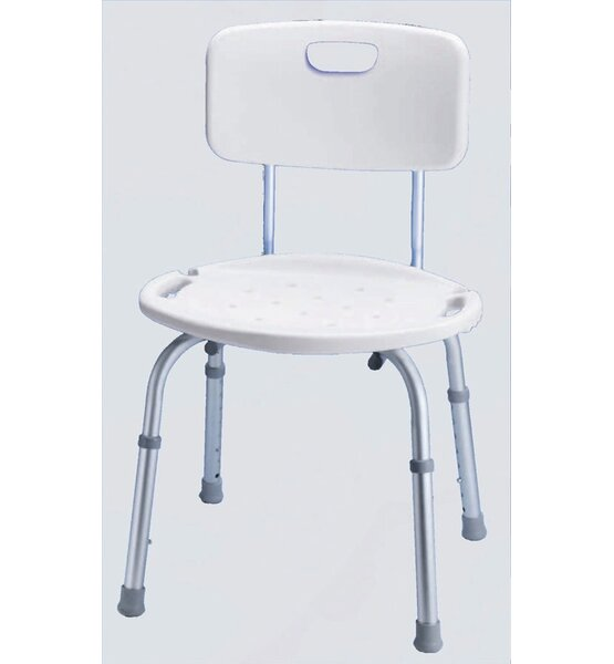 Bath and Shower Seat with Adjustable Back by Carex