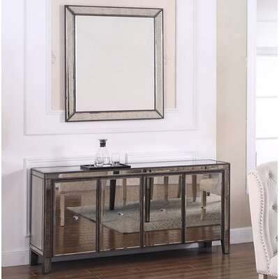 House of Hampton Brodsky Sideboard and Mirror